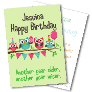 Birthday Cards By Age