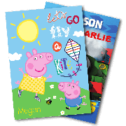 Send Kids Characters Cards